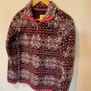 Prince and Fox Sherpa 1/4 Zip Pullover